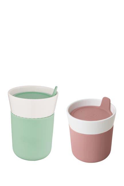 Image of BergHOFF Leo 2-Piece Travel Mug Set