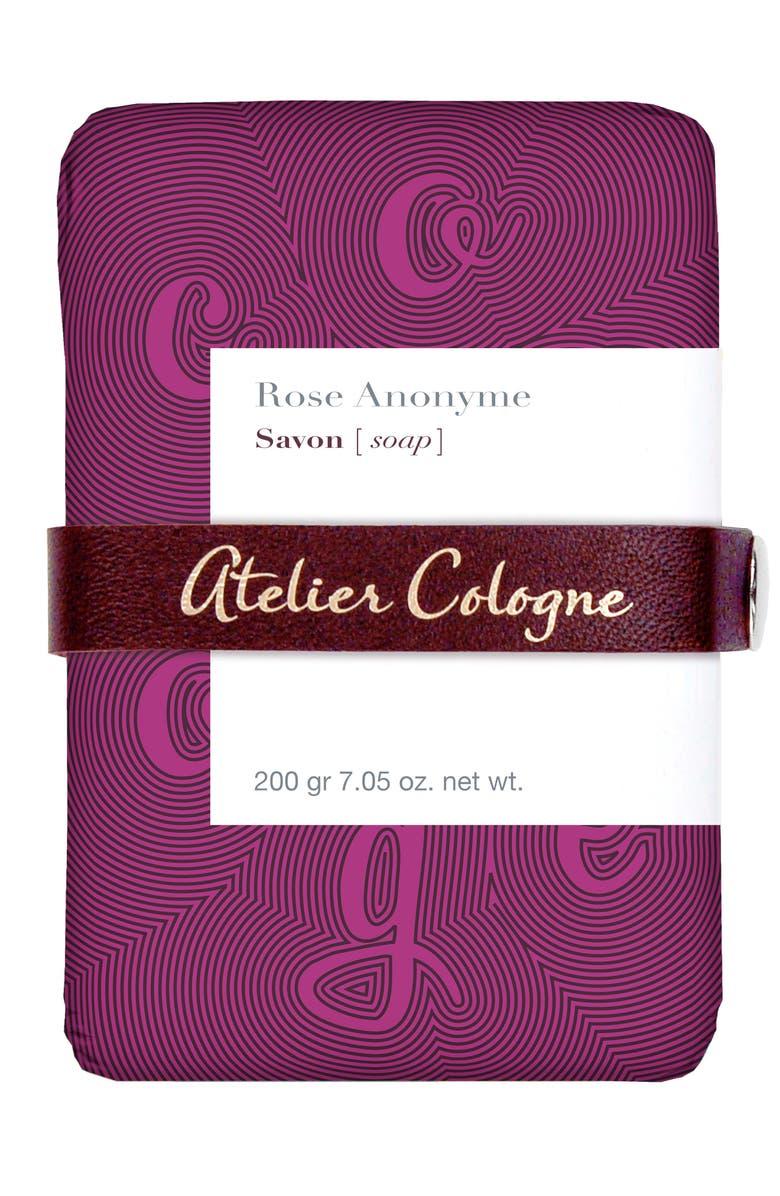 ATELIER COLOGNE Rose Anonyme Soap, Main, color, NO COLOR