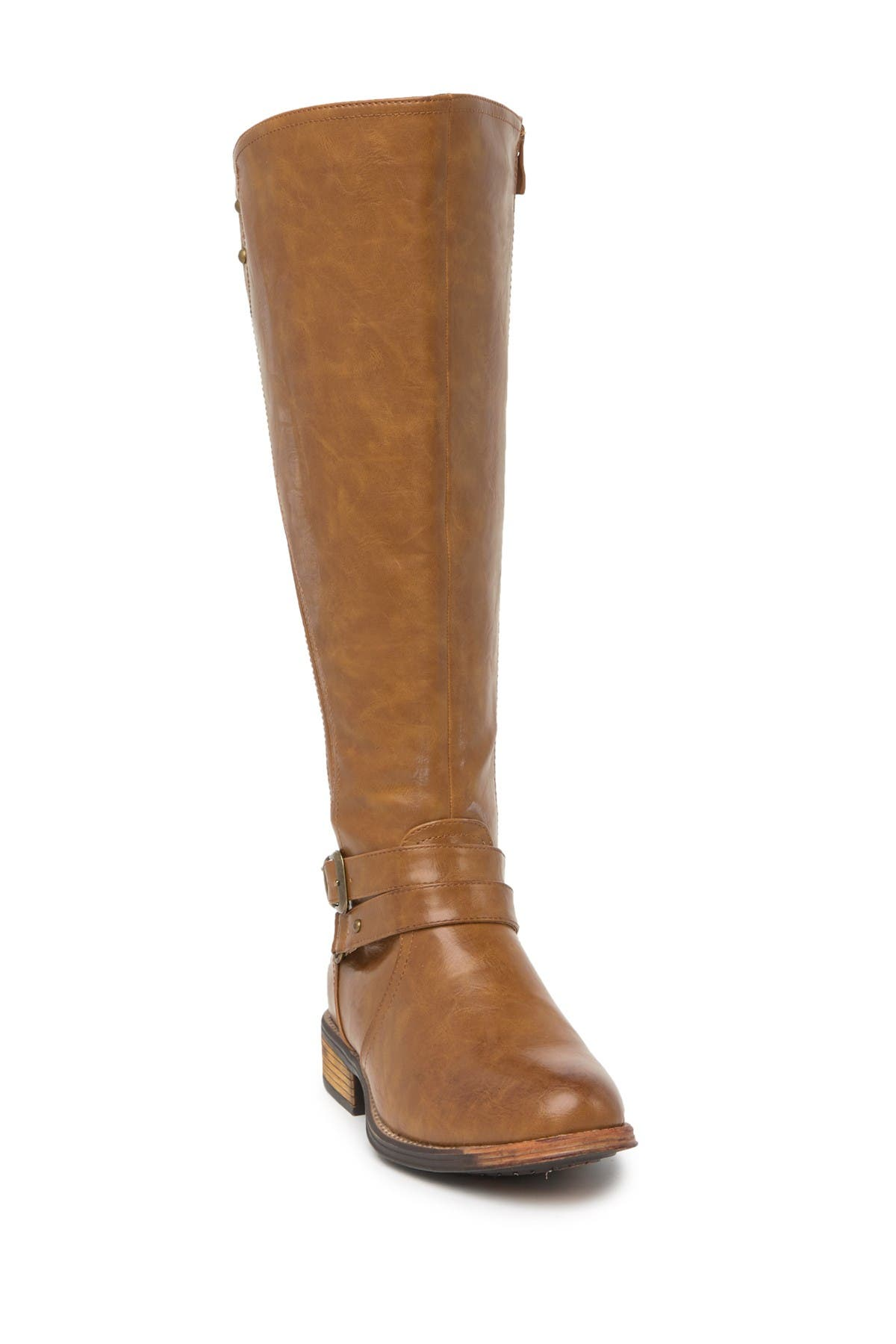 Image of Wanted Bergen Buckle Strap Tall Boot