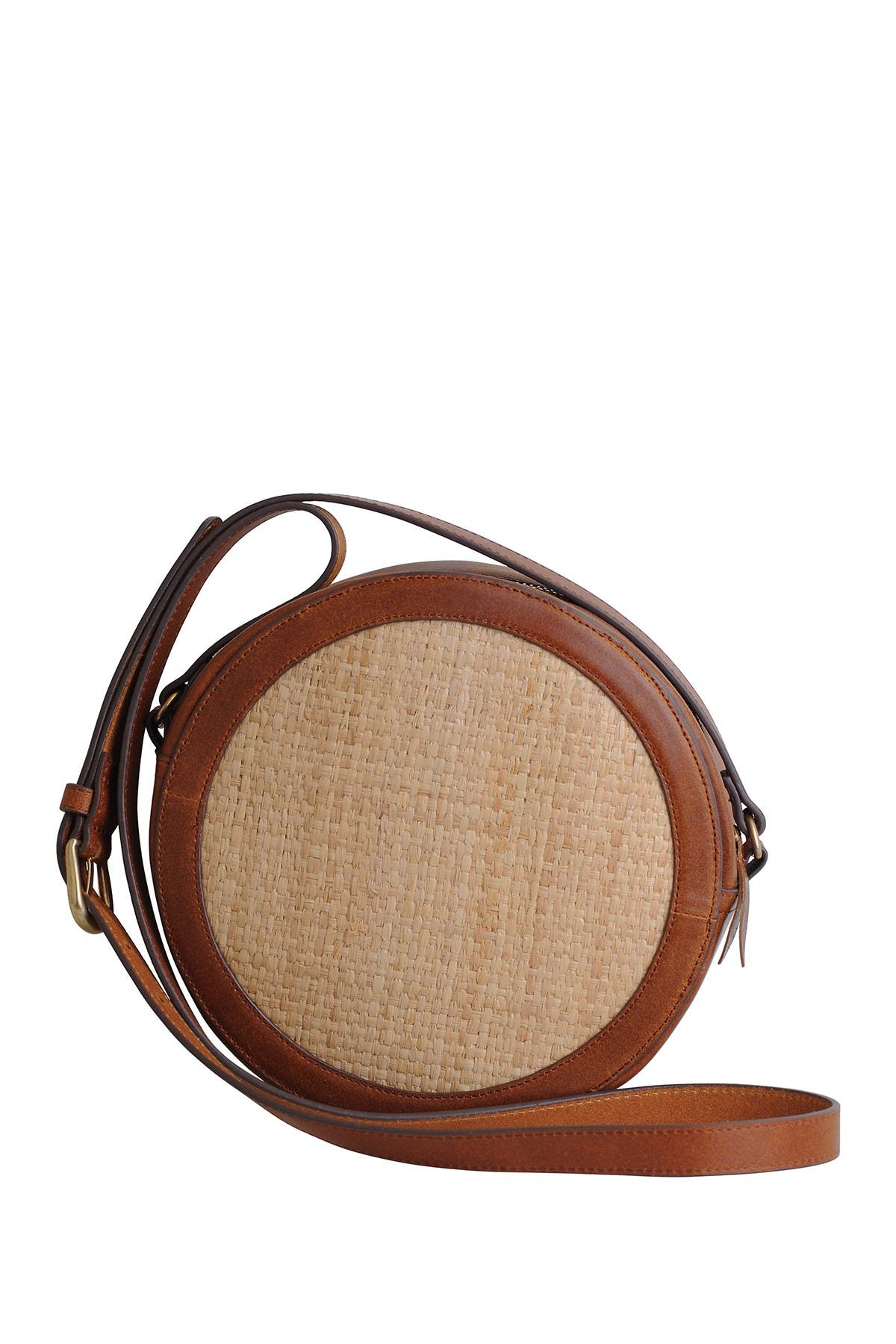 Image of Most Wanted USA Leather Trimmed Canteen Crossbody Bag