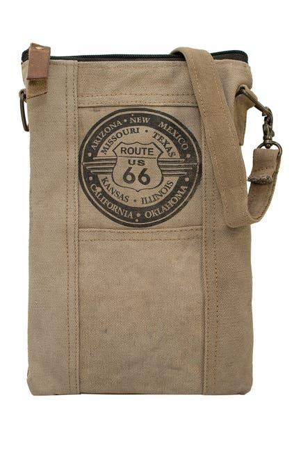 Image of Vintage Addiction Route 66 Tent Crossbody Bag