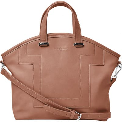 Urban Originals Your Moment Faux Leather Satchel - Beige