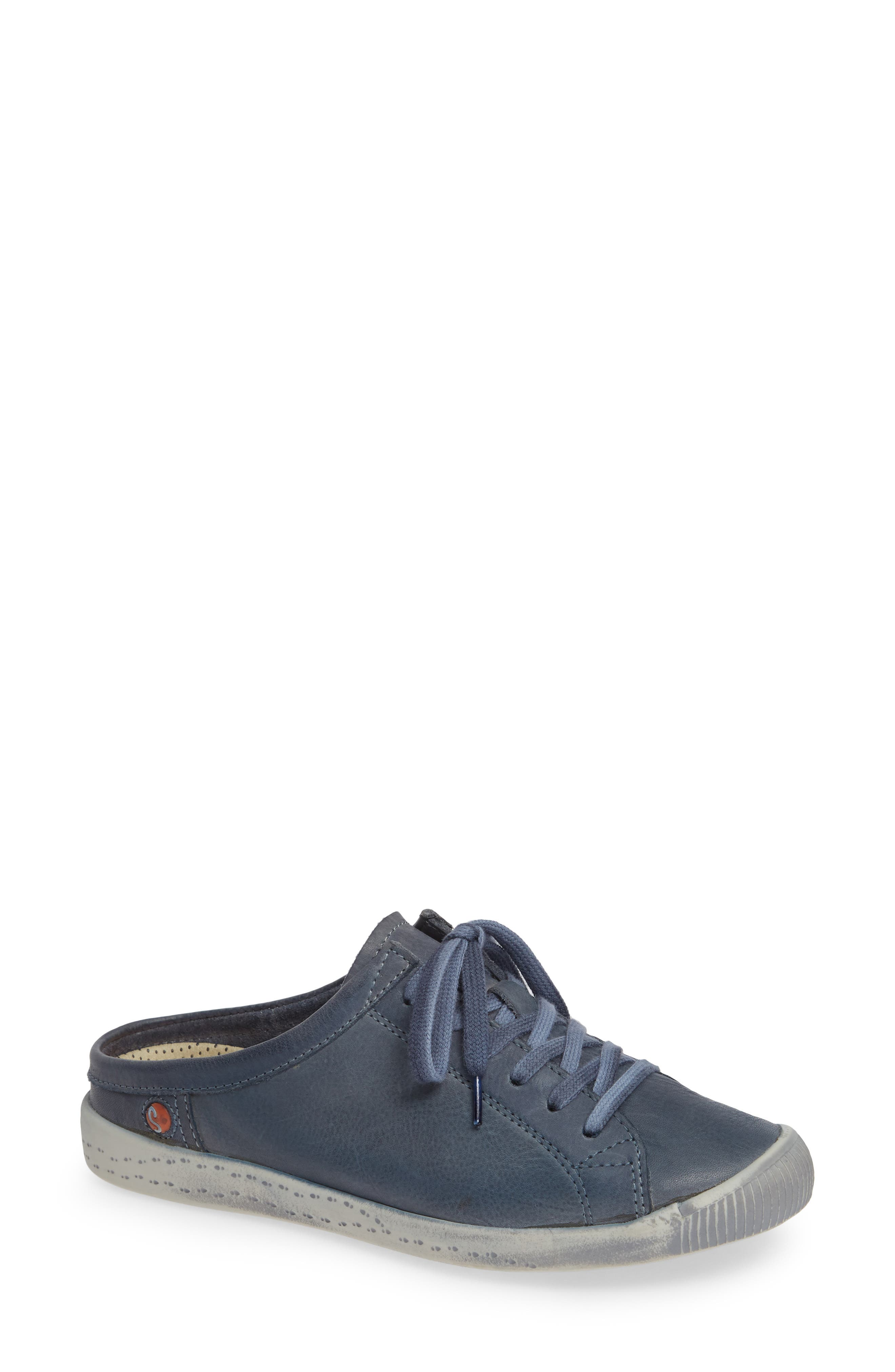 Softinos By Fly London Ije Sneaker Mule - Blue