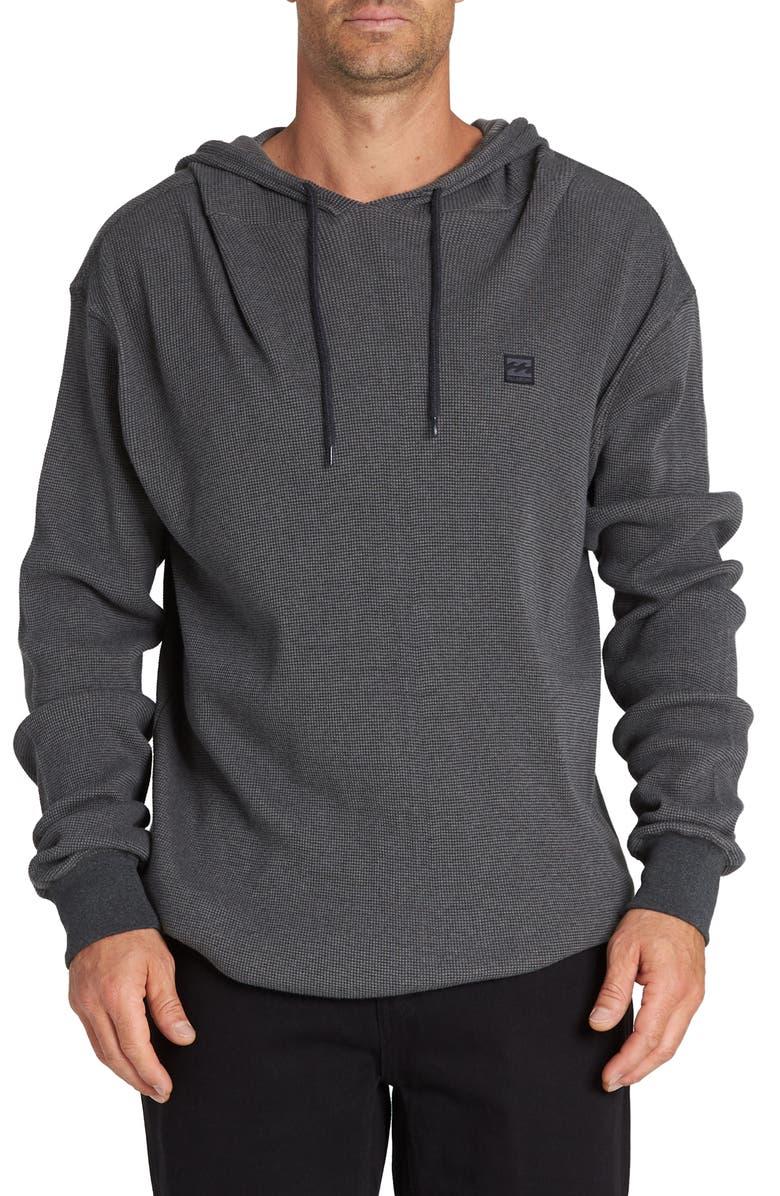 BILLABONG Keystone Pullover Hoodie, Main, color, BLACK