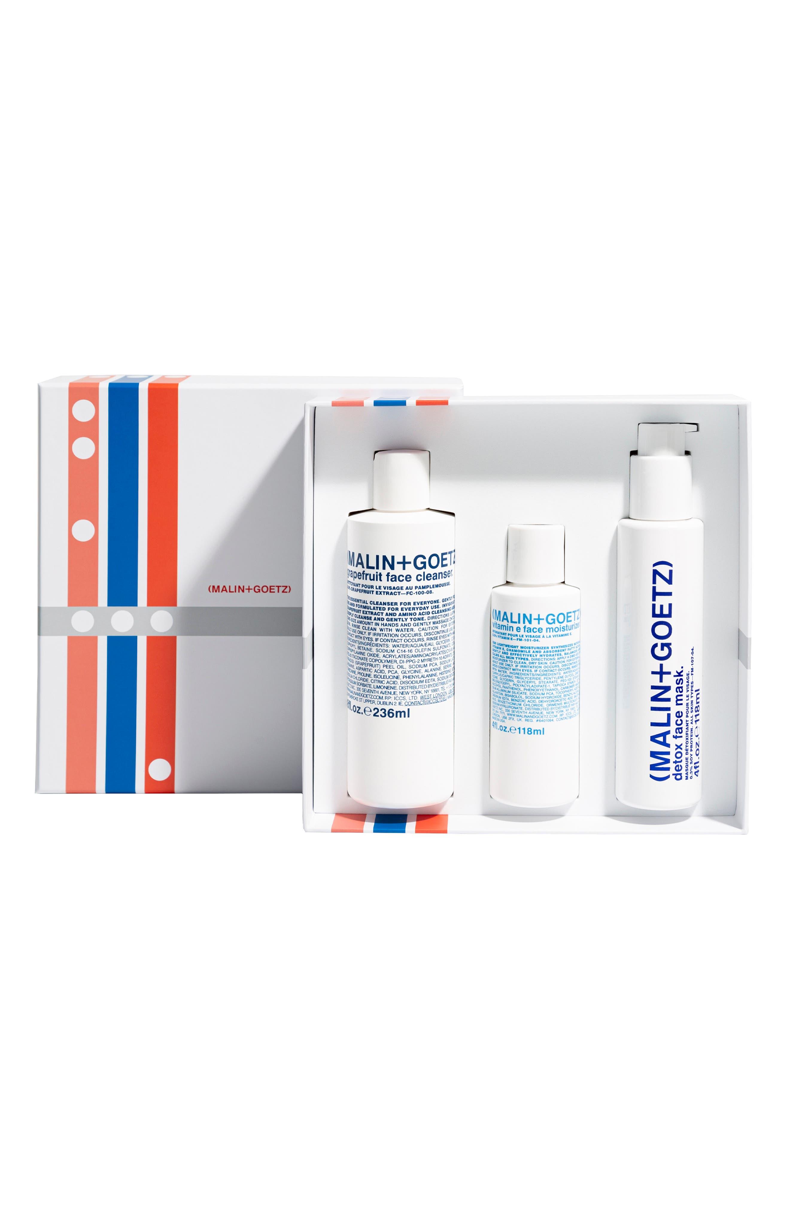 Malin+Goetz Saving Face Skin Care Set