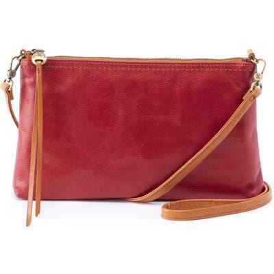 Hobo Darcy Crossbody Bag - Red