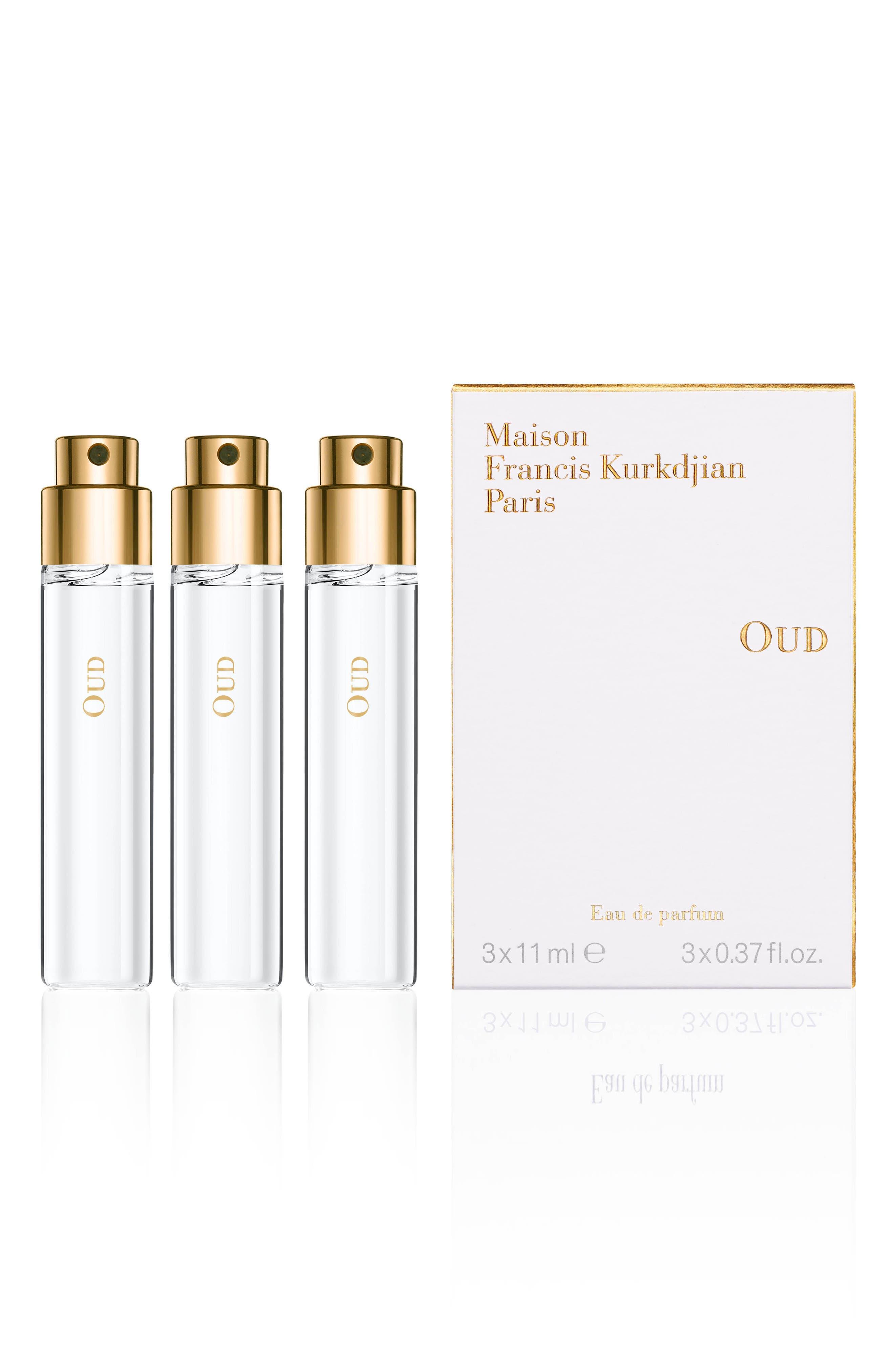 Paris Oud Eau De Parfum Refill Trio