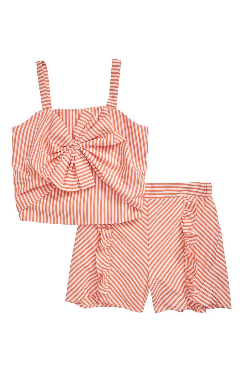 HABITUAL Tamika Stripe Set, Main, color, PEACH
