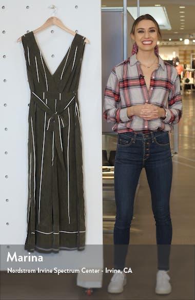 Pia Sleeveless Split Wide Leg Jumpsuit, sales video thumbnail