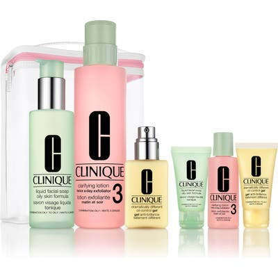 Clinique Great Skin Anywhere 3-Step Skin Care Set For Oily Skin