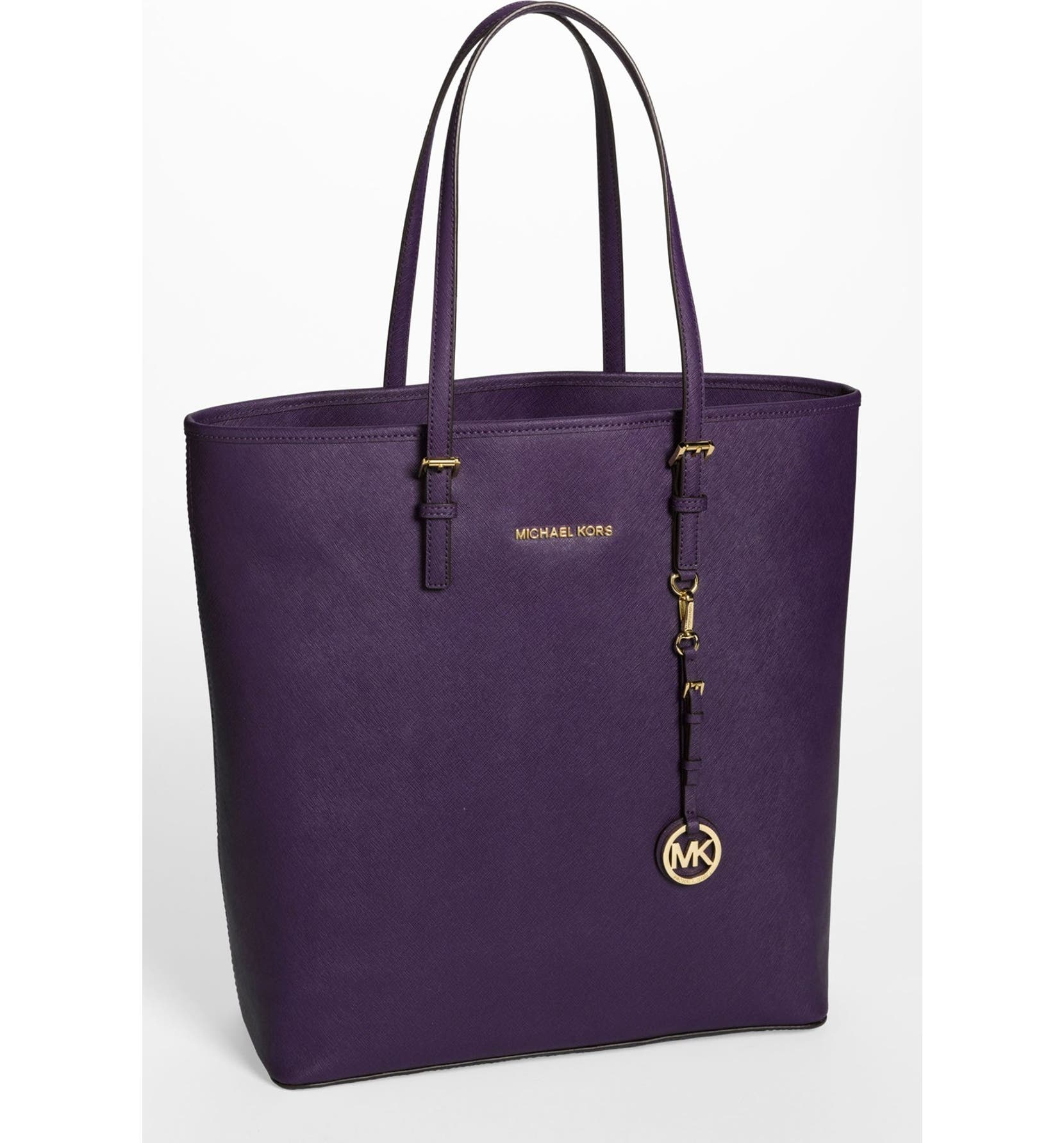 70e3eca1ef74 MICHAEL Michael Kors 'Jet Set - Travel' Saffiano Leather Tote, Extra Large  | Nordstrom