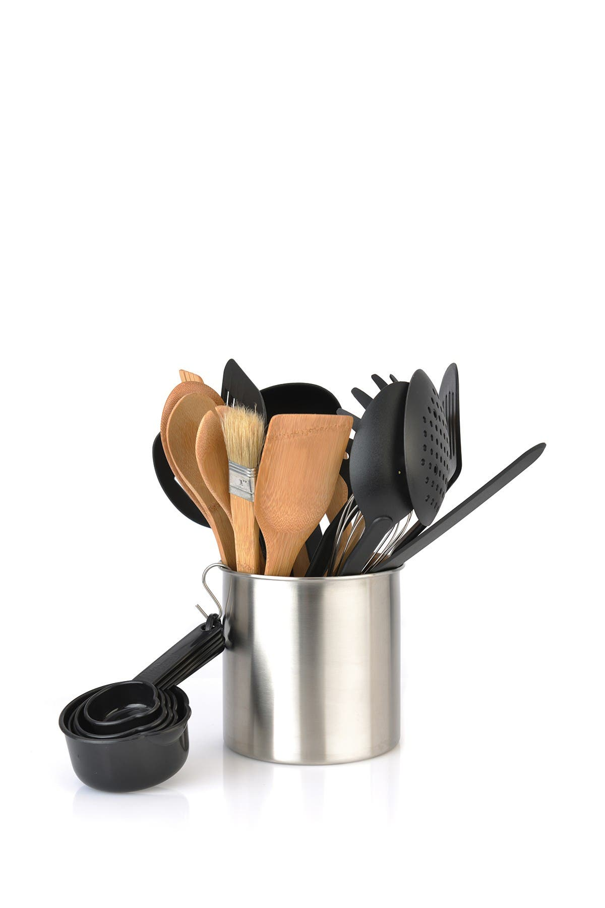 Image of BergHOFF Silver Tub of Tools 23-Piece Set