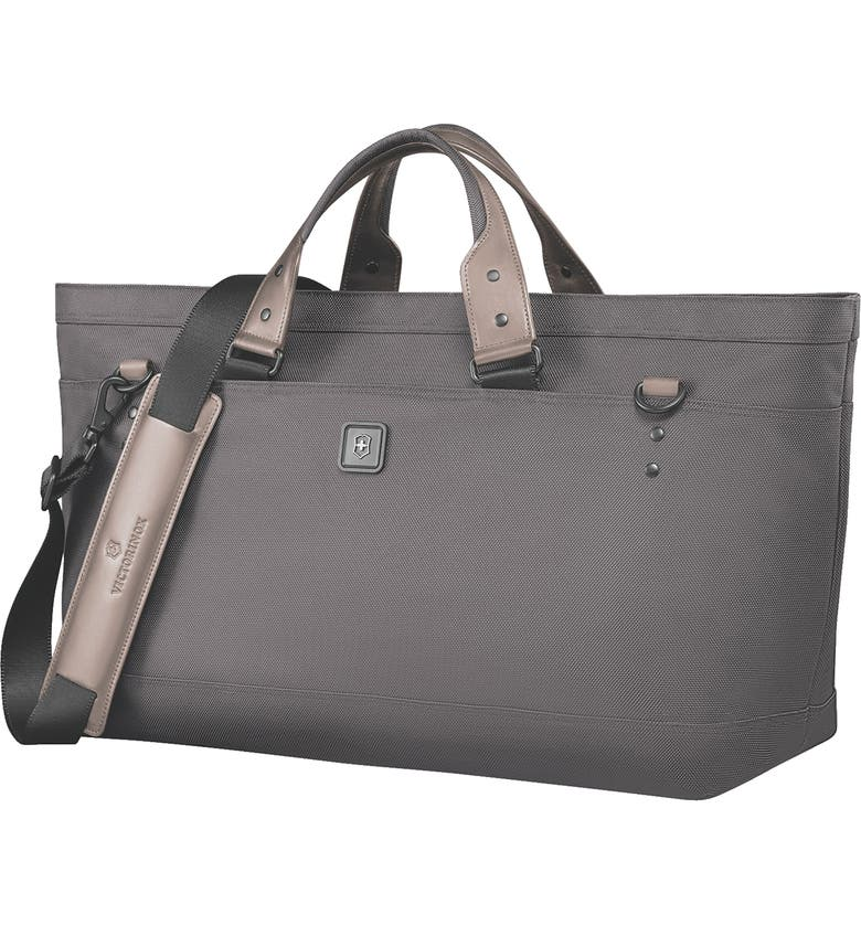VICTORINOX SWISS ARMY<SUP>®</SUP> Lexicon 2.0 Deluxe Tote Bag, Main, color, GREY