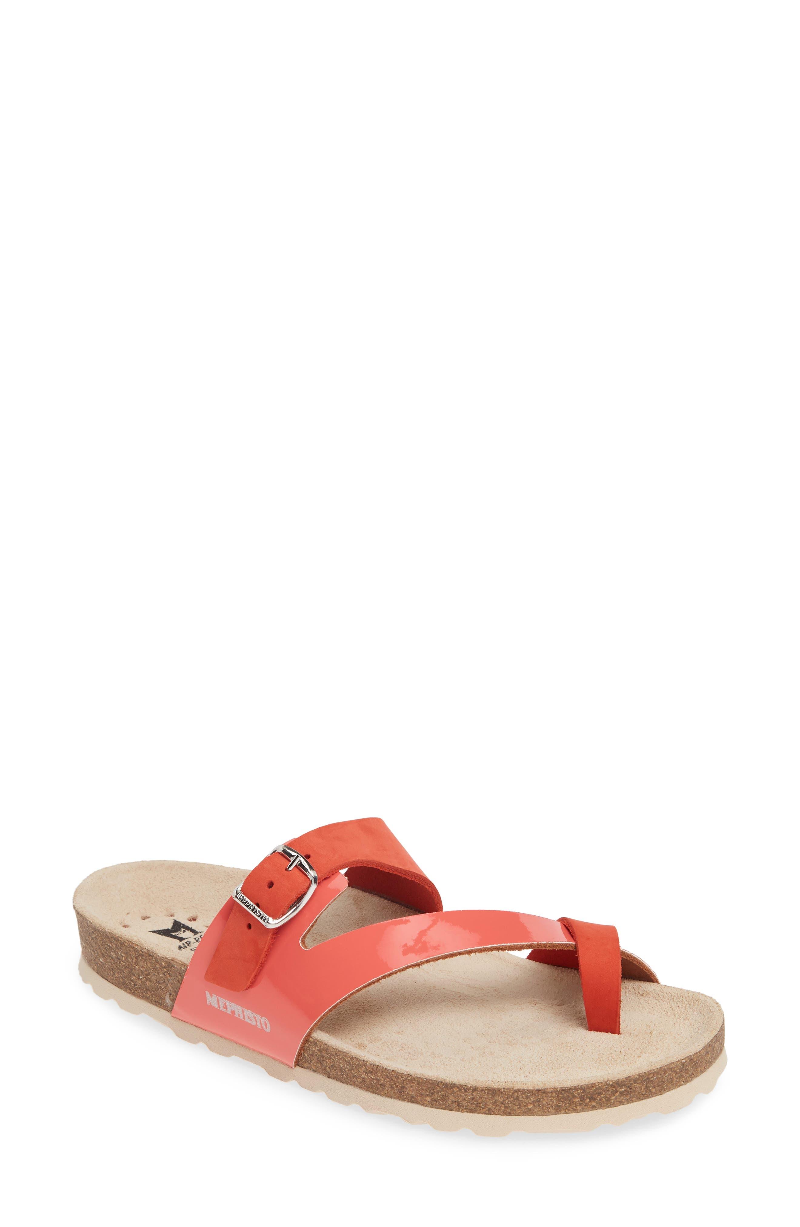 Mephisto Nalia Slide Sandal, Orange