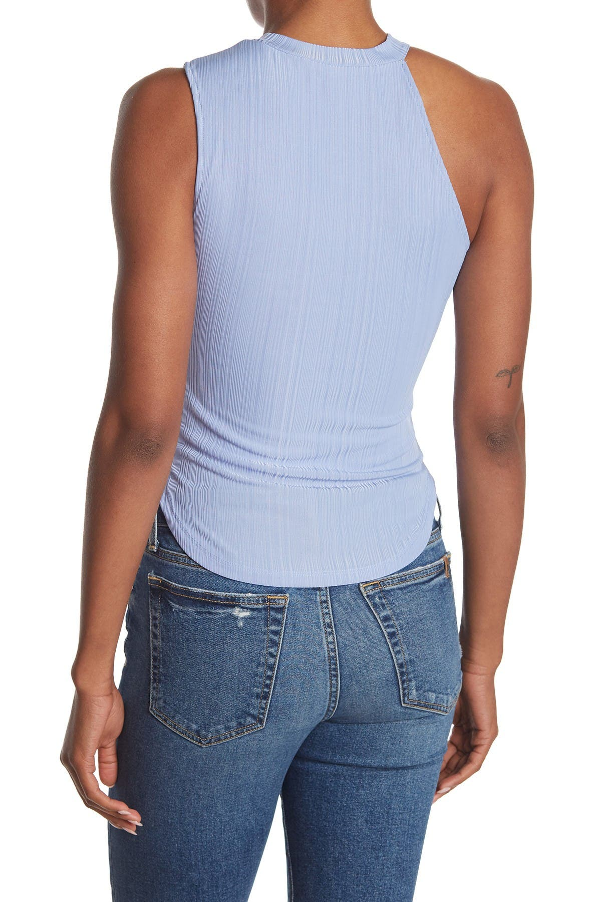 Image of NSR Andi Asymmetrical Knit Top