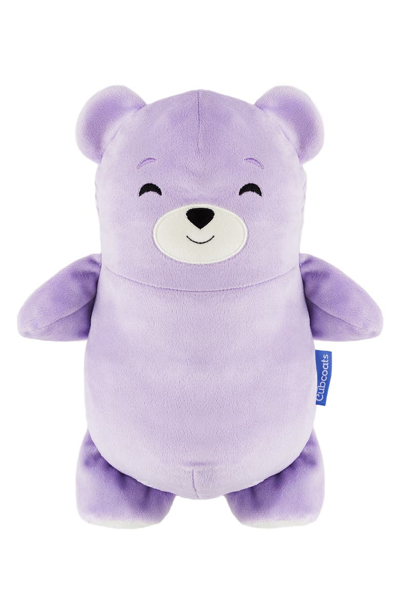 CUBCOATS Bori 2-in-1 Stuffed Animal/Jacket, Main, color, LILAC MARL MIX