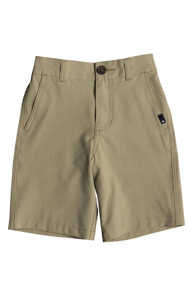 QUIKSILVER Union Amphibian Hybrid Shorts, Main, color, ELMWOOD