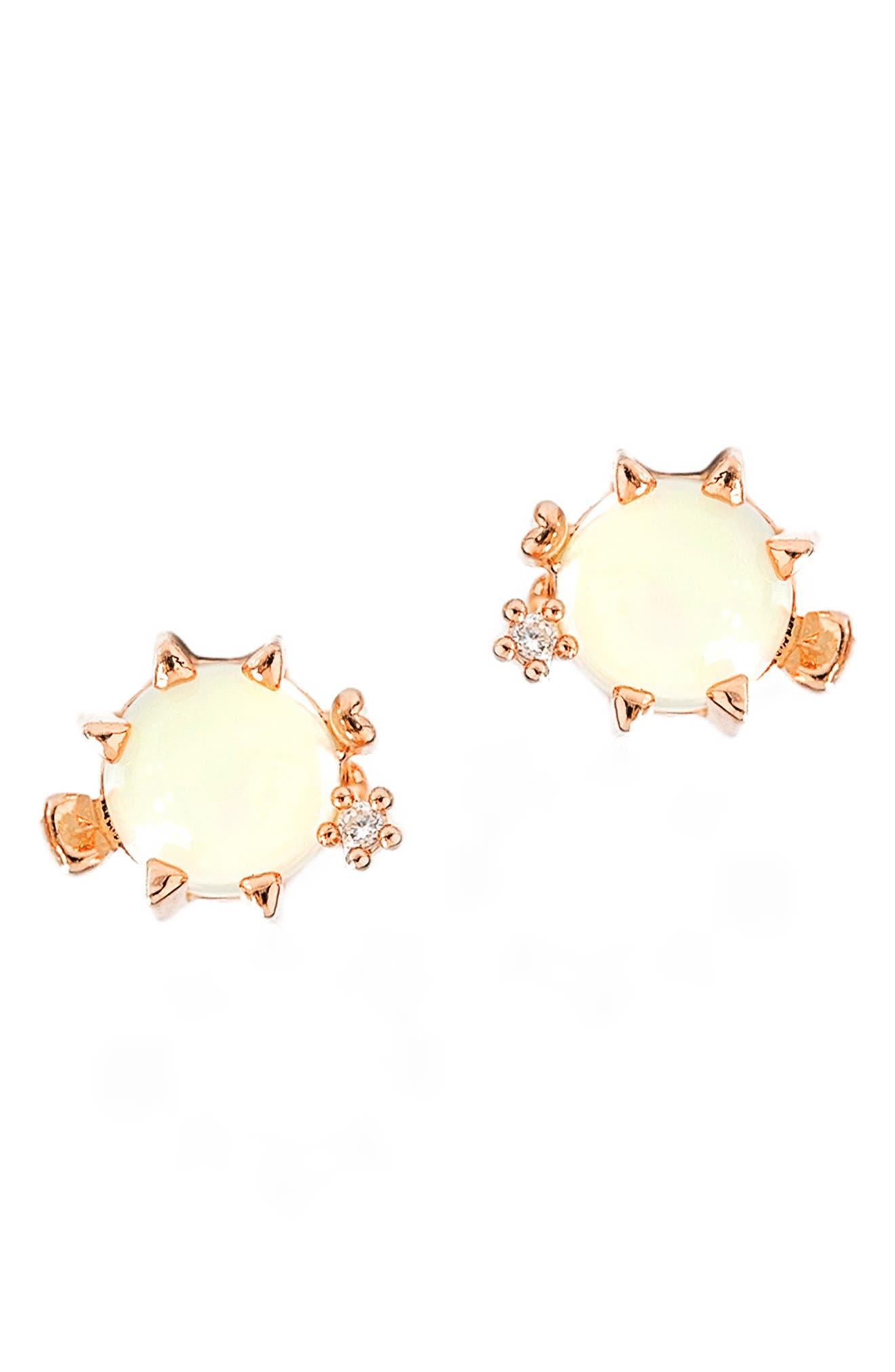 Peppy Pufferfish Stud Earrings