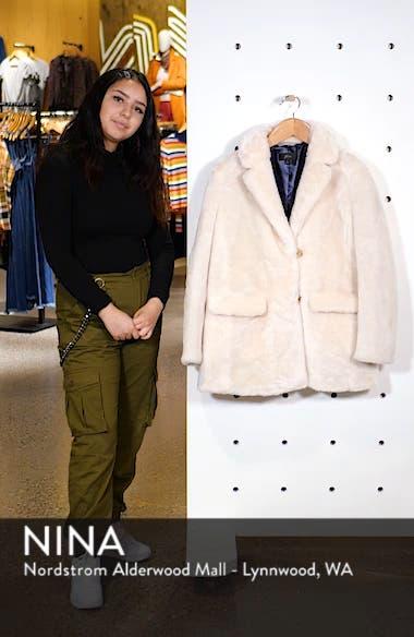 Yuna Teddy Faux Fur Jacket, sales video thumbnail