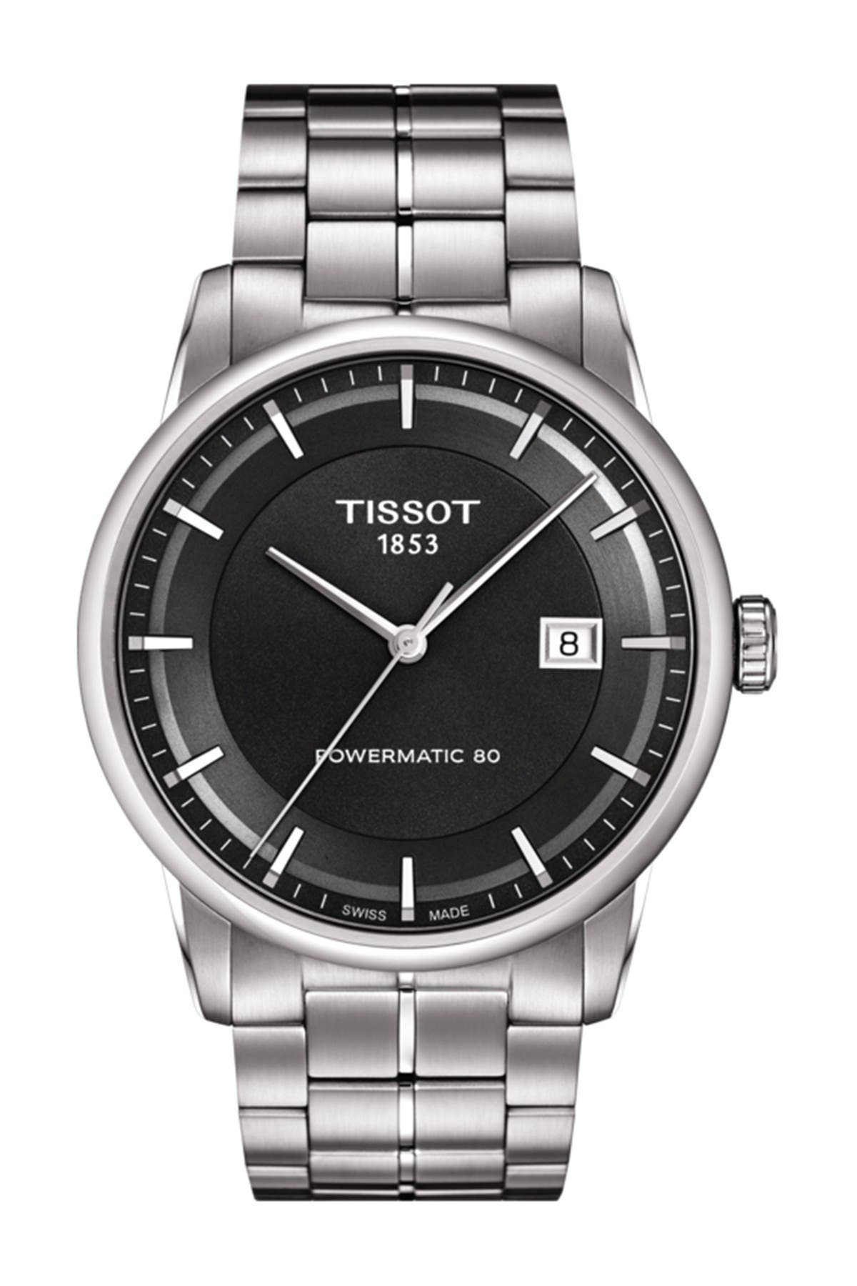 Image of Tissot Men's Luxury Powermatic 80 Bracelet Watch, 41mm