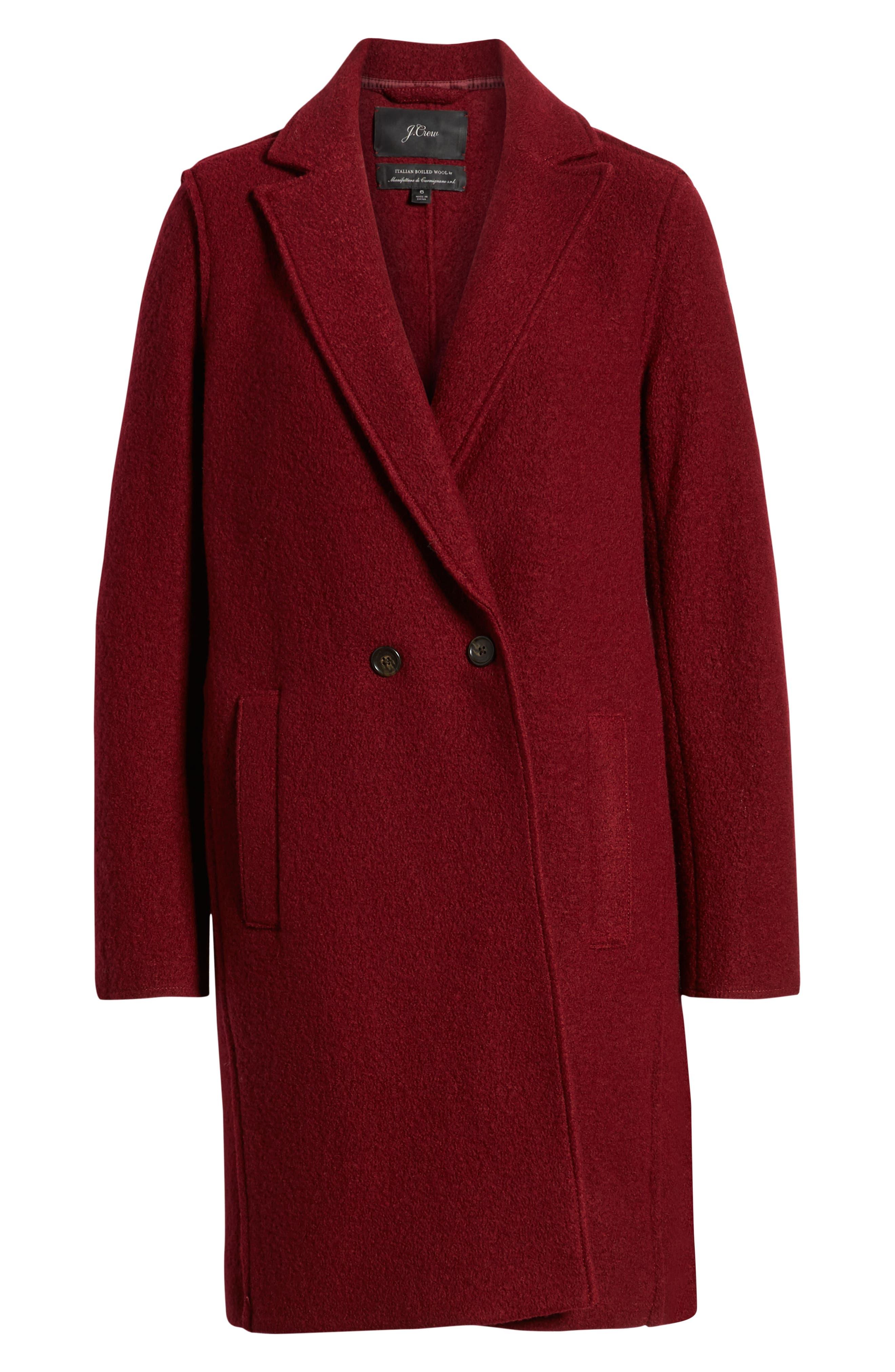 ,                             Daphne Boiled Wool Topcoat,                             Alternate thumbnail 58, color,                             602