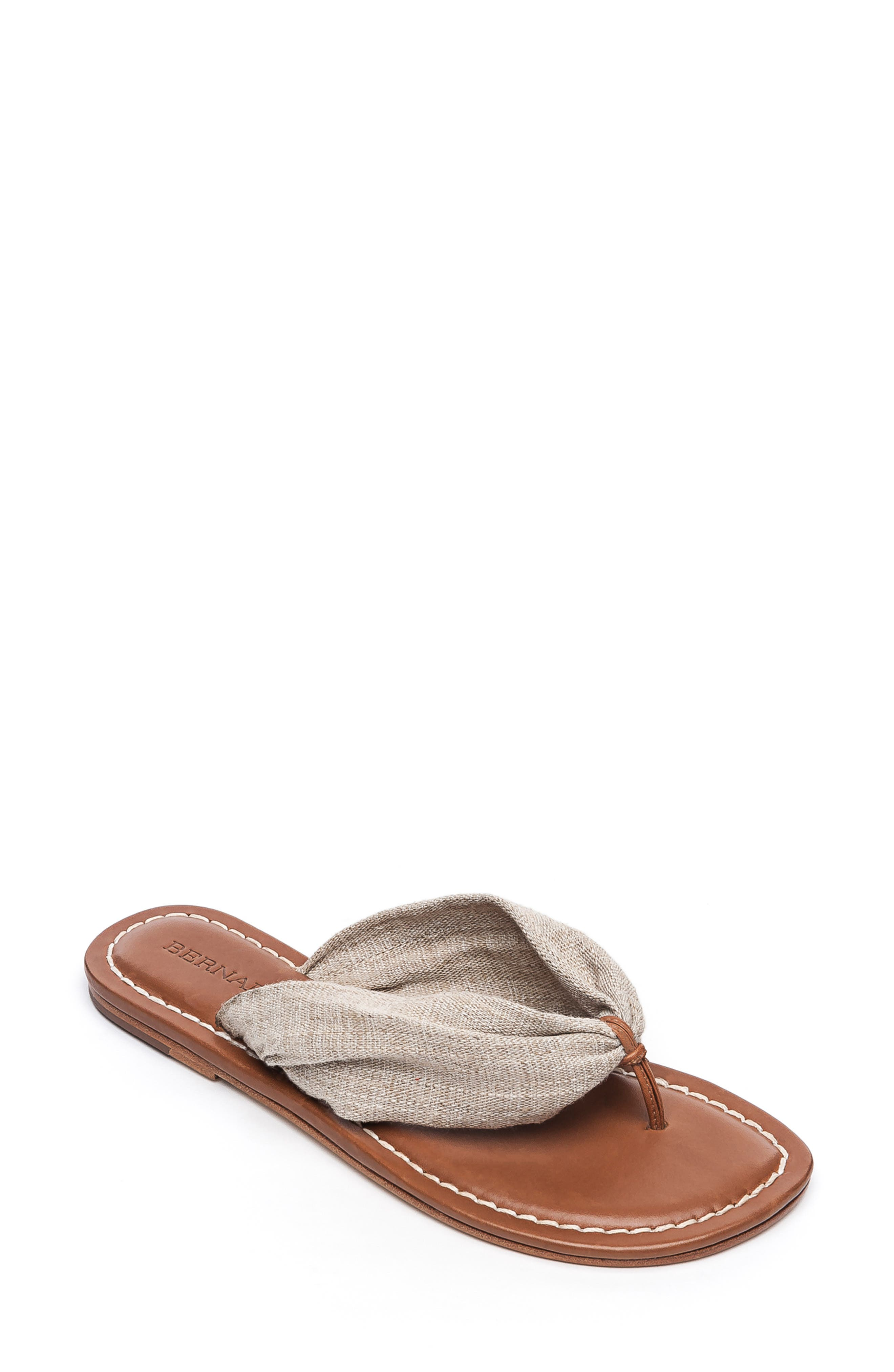 Bernardo Mila Flip Flop- Beige