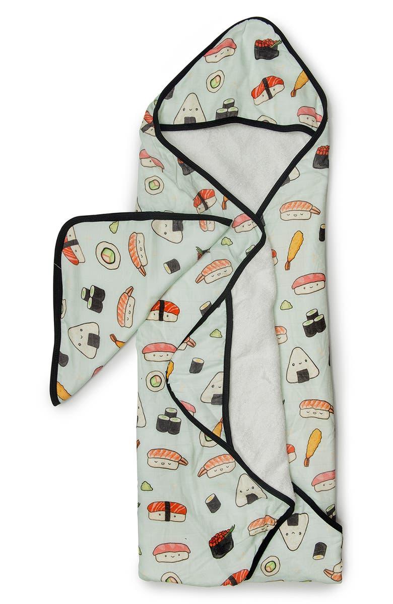 LOULOU LOLLIPOP Muslin Hooded Towel & Washcloth Set, Main, color, 300