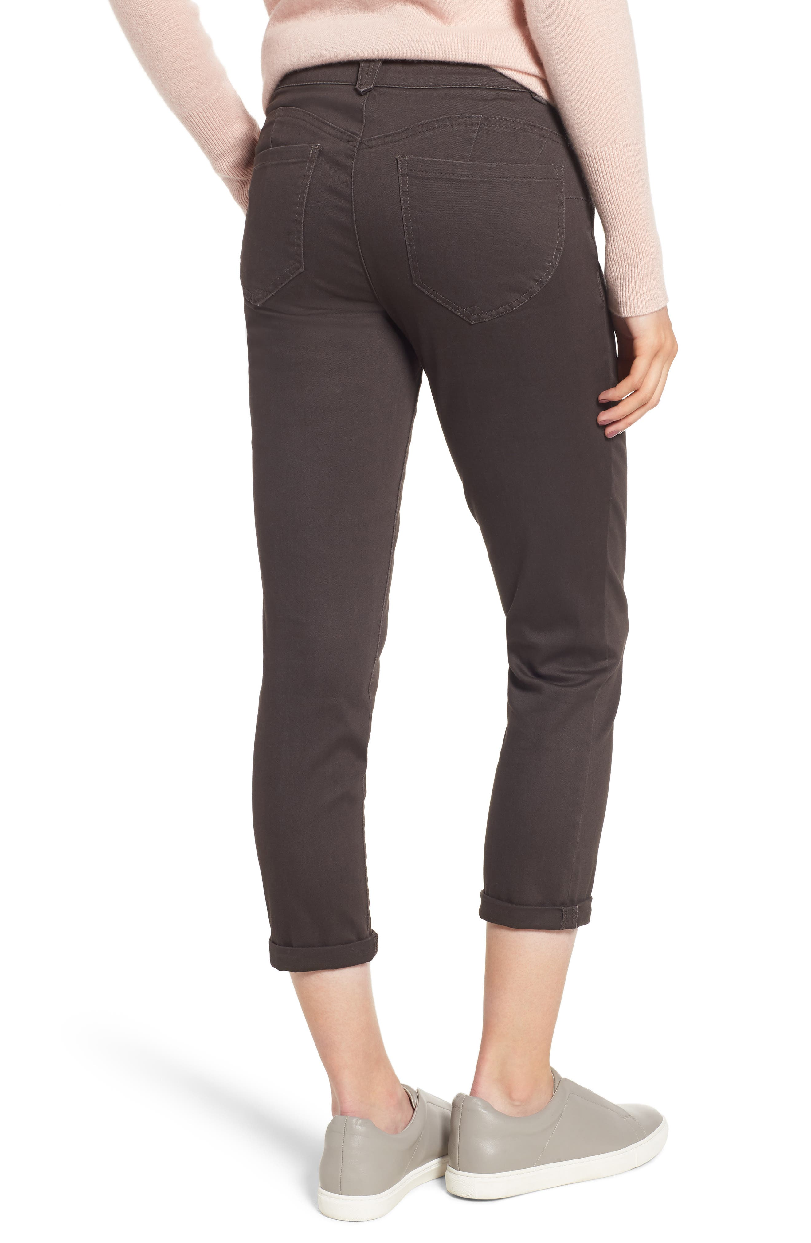 ,                             Ab-Solution Crop Skinny Pants,                             Alternate thumbnail 2, color,                             ESPRESSO