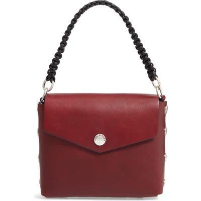 Rag & Bone Atlas Concept Leather Shoulder Bag - Red