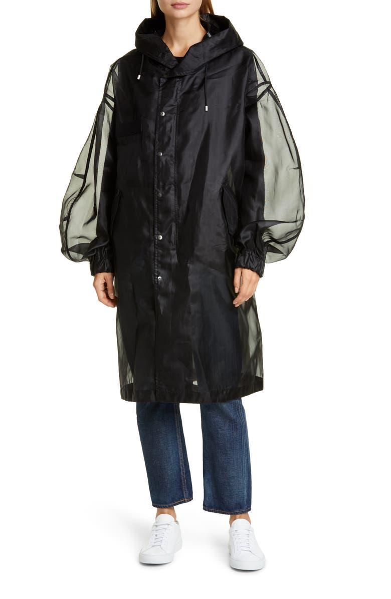 MR & MRS ITALY Tech Organdy Jacket, Main, color, 001