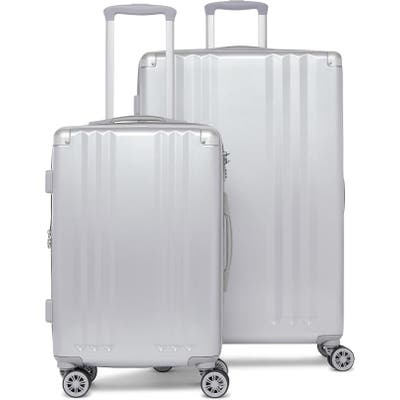 Calpak Ambeur 2-Piece Spinner Luggage Set - Metallic