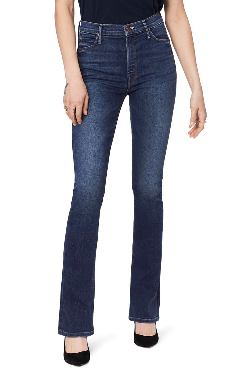 MOTHER The High Waist Runaway Jeans, Main, color, SWEET AND SASSY
