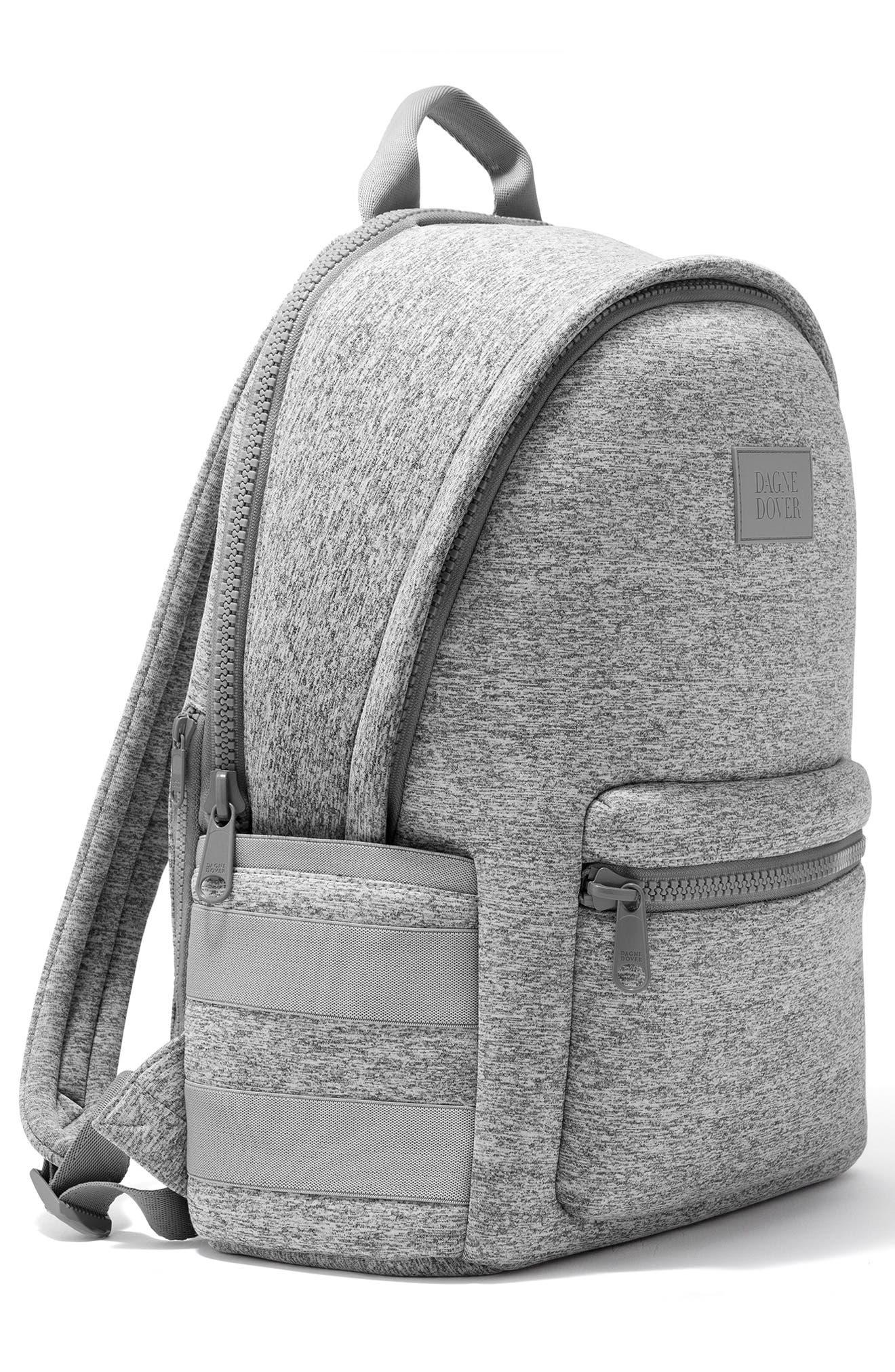,                             Large Dakota Neoprene Backpack,                             Alternate thumbnail 5, color,                             HEATHER GREY
