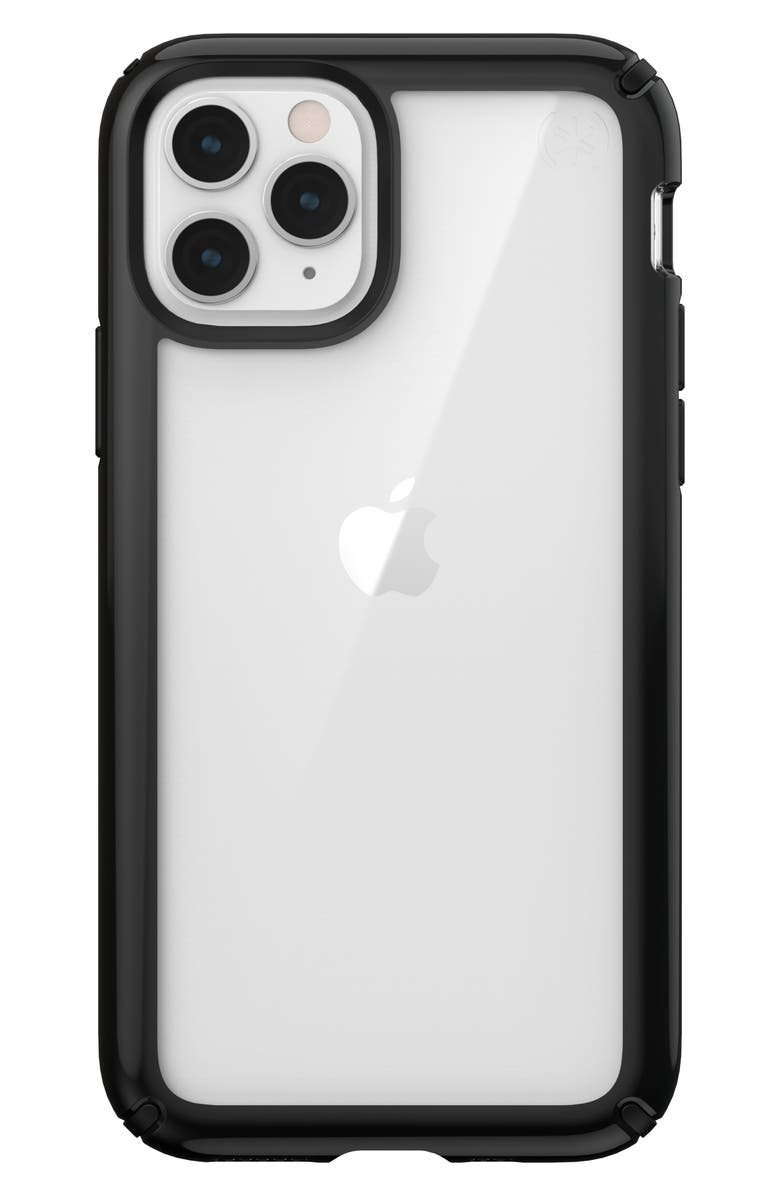 SPECK Presidio Show iPhone 11 & 11 Pro Case, Main, color, CLEAR/ BLACK