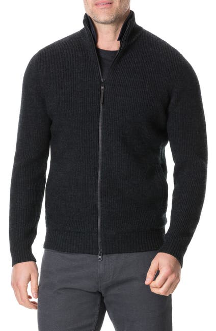 Image of RODD AND GUNN Camerons Track Zip Wool Sweater