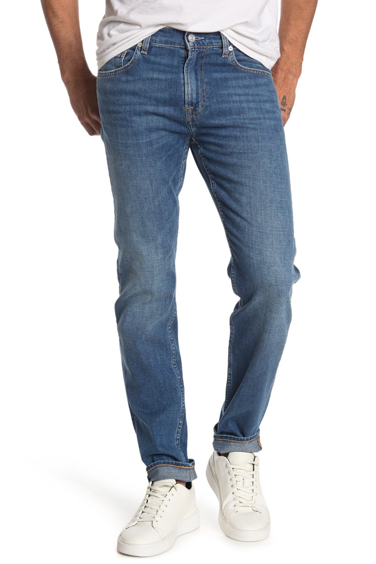 Image of 7 For All Mankind Paxtyn Slim Fit Skinny Jeans