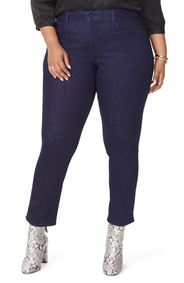 NYDJ Sheri Slim Jeans, Main, color, RINSE