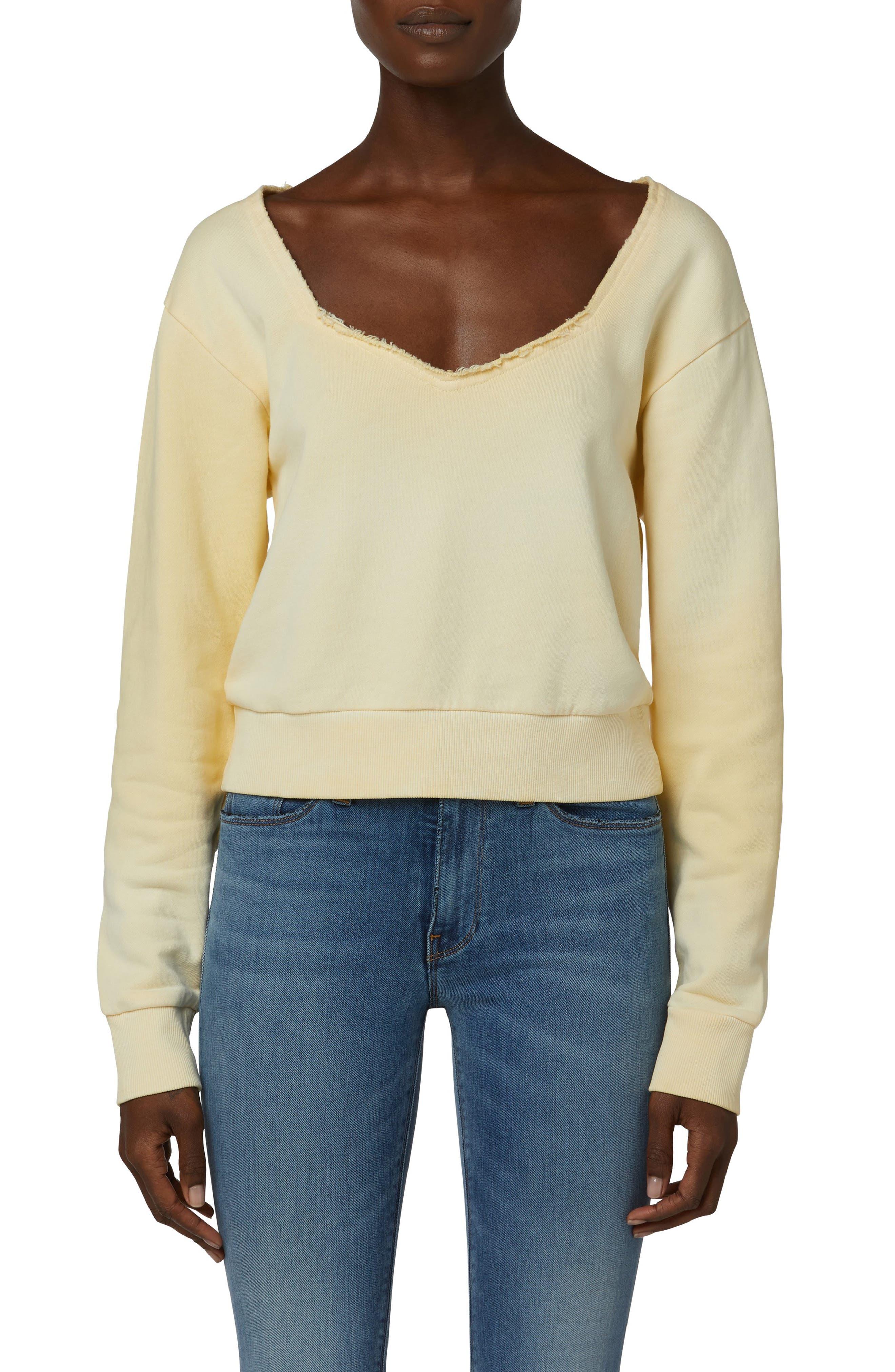 Women's Hudson Sweetheart Cotton Sweatshirt