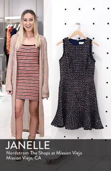 Sleeveless Tweed Fit & Flare Dress, sales video thumbnail