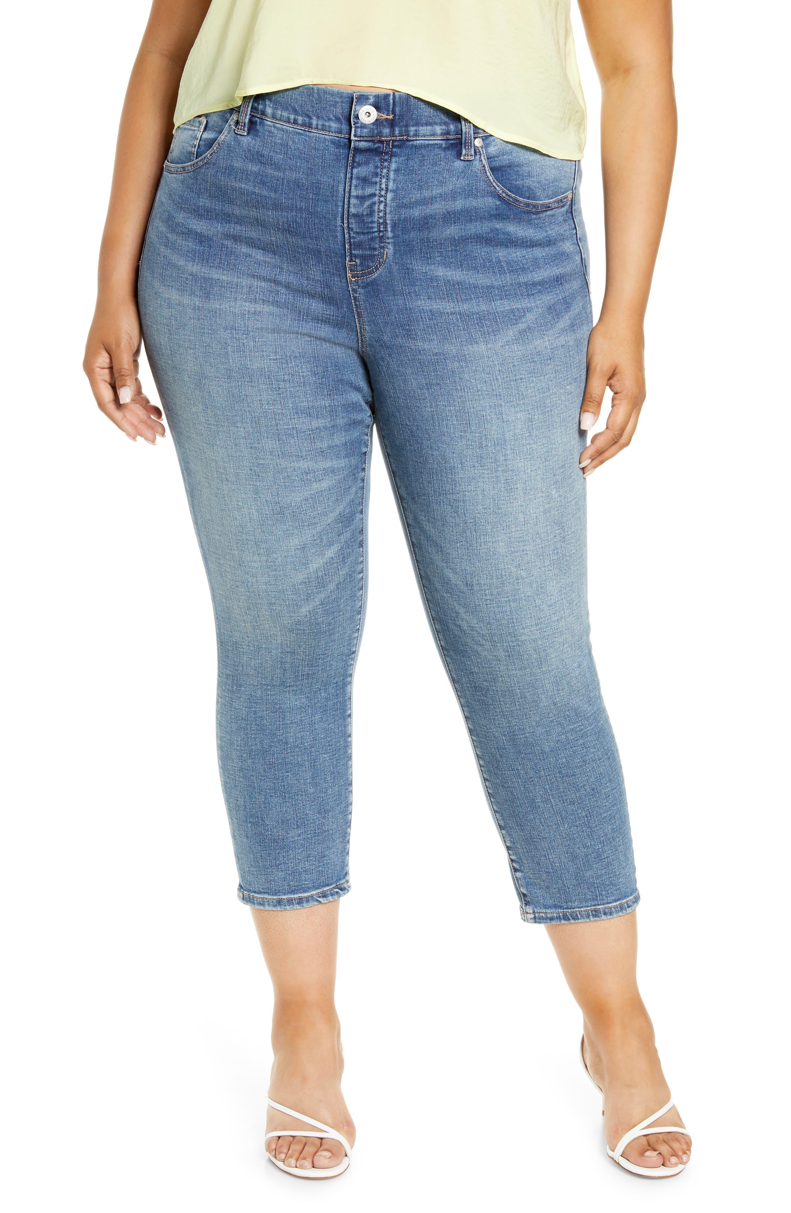 Valentina High Waist Crop Jeans