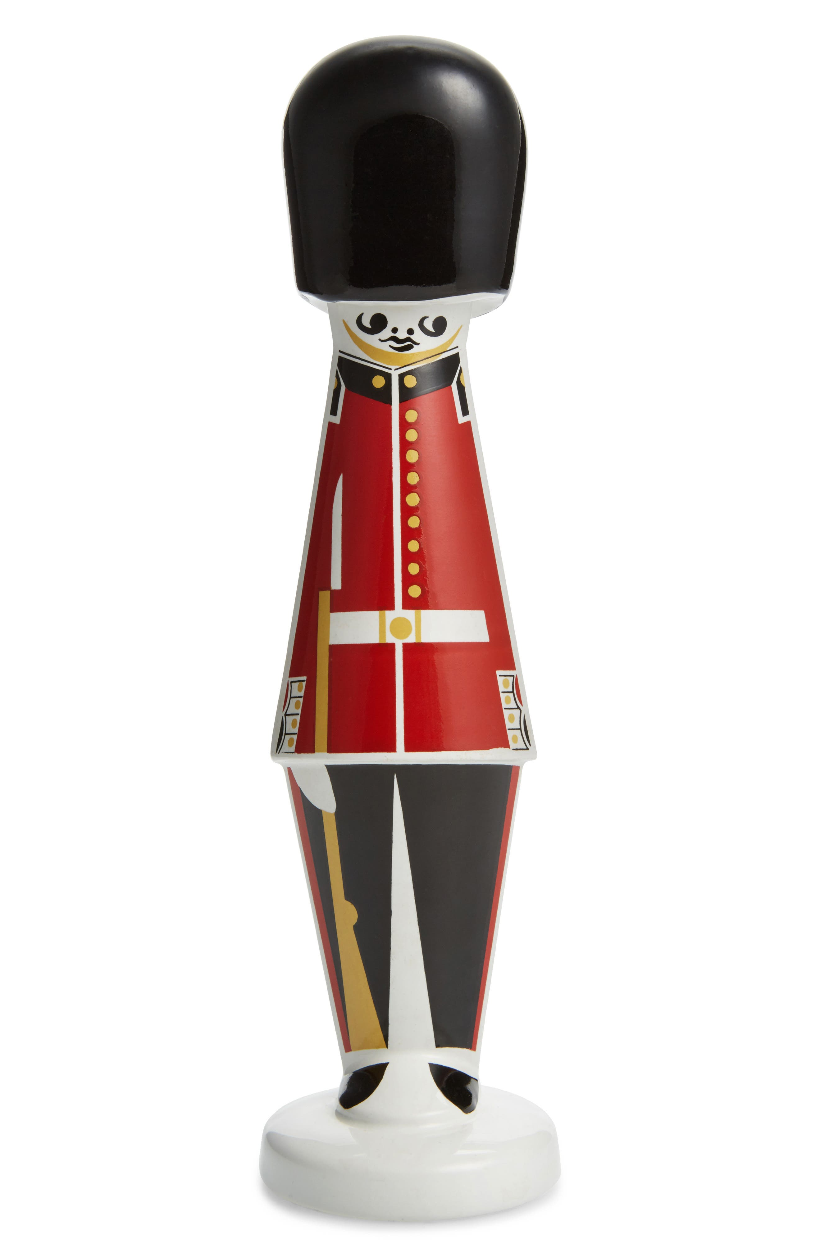 Wattisfield One of a Kind Vintage Queen's Guard Ceramic Figurine, Main, color, 600