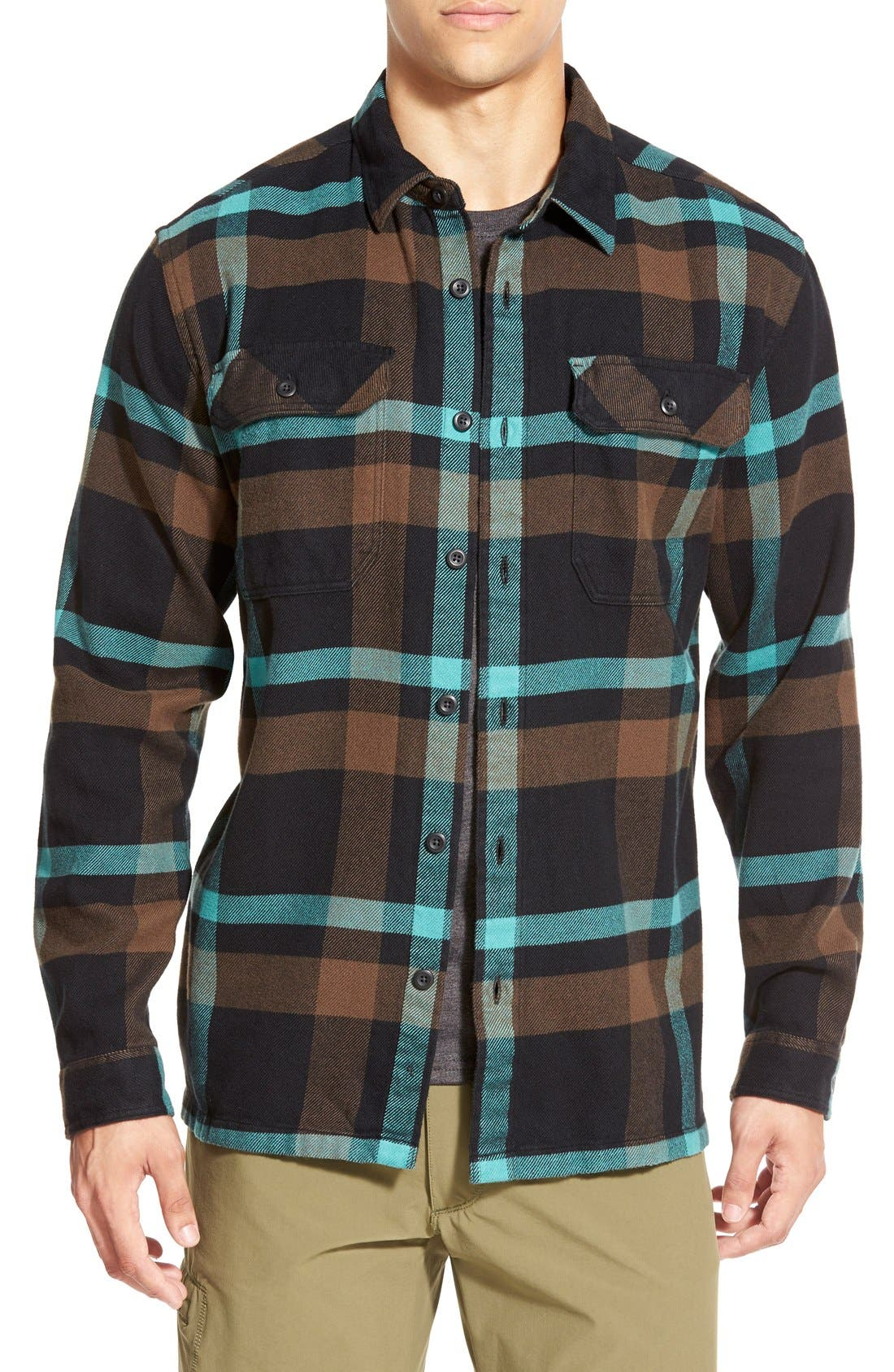 ,                             'Fjord' Regular Fit Organic Cotton Flannel Shirt,                             Main thumbnail 87, color,                             200