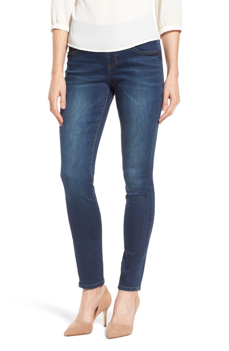 JAG JEANS Nora Stretch Skinny Jeans, Main, color, MEDIUM INDIGO