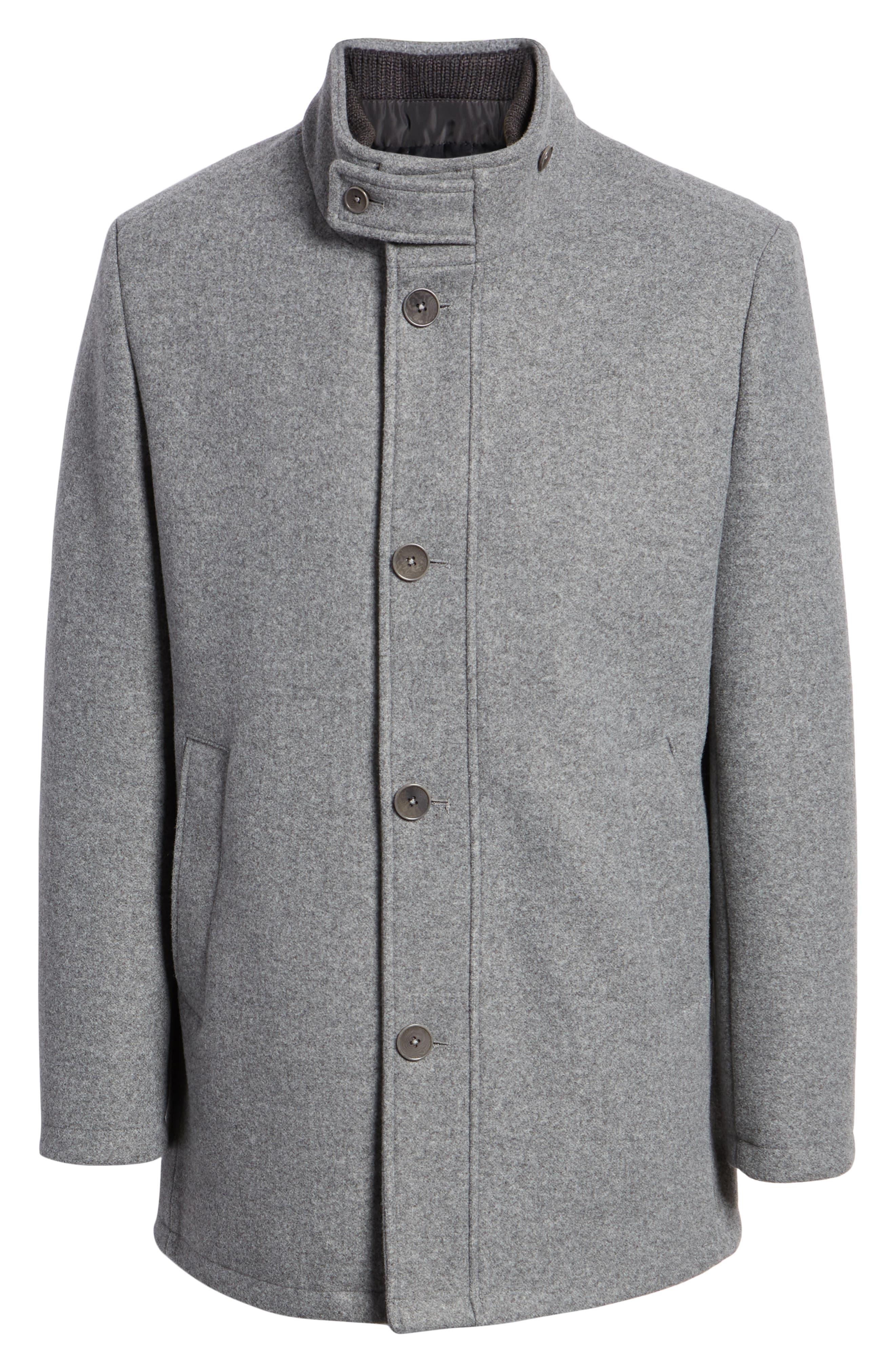 ,                             Westcott Wool Car Coat,                             Alternate thumbnail 7, color,                             LIGHT GREY