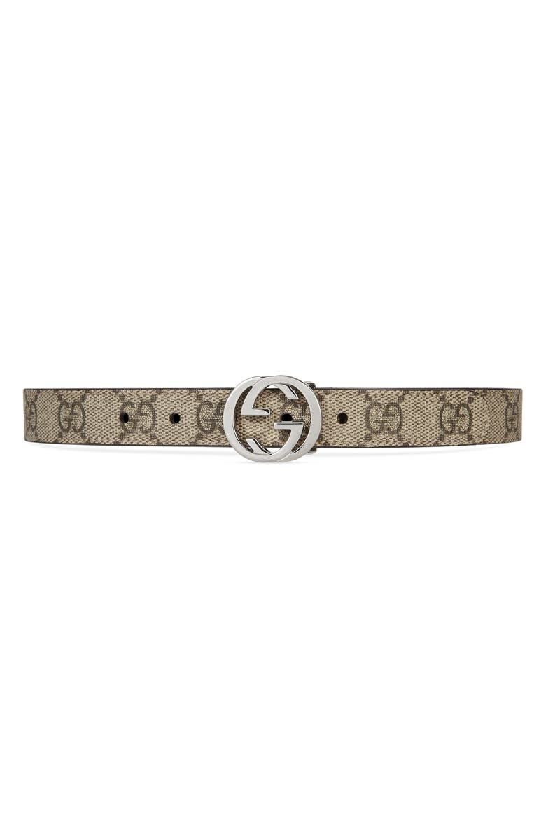 GUCCI Canvas Belt, Main, color, 200