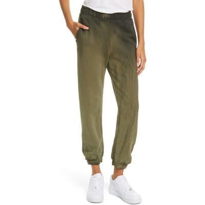 Cotton Citizen Brooklyn Tie Dye Sweatpants, Green