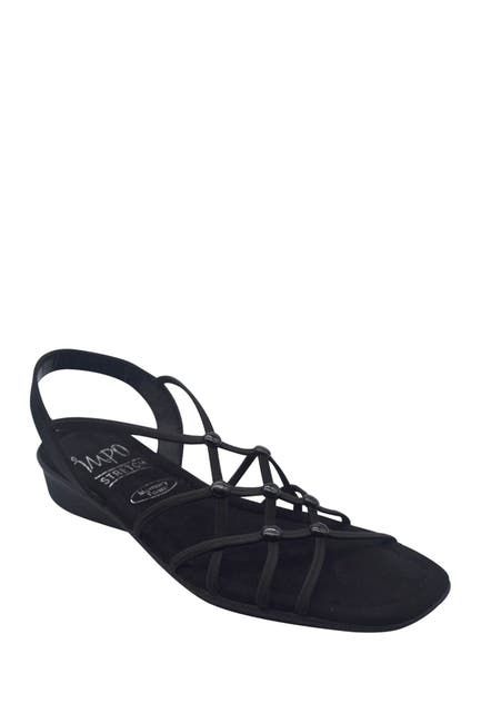 Image of Impo Reddy Stretch Memory Foam Wedge Sandal