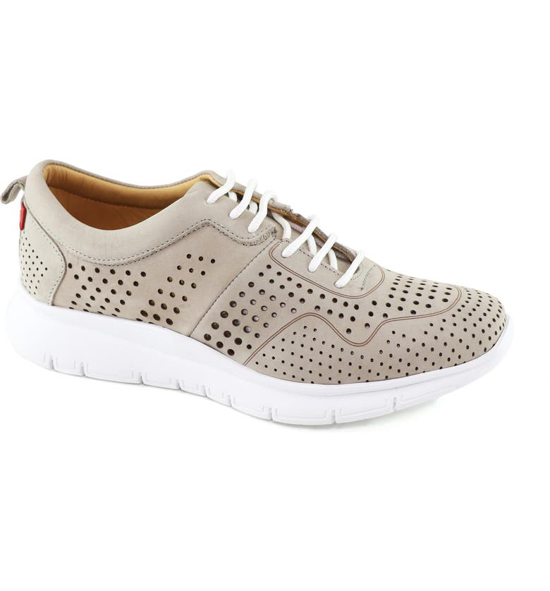 MARC JOSEPH NEW YORK Grand Central 2 Sneaker, Main, color, GREY NUBUCK LEATHER