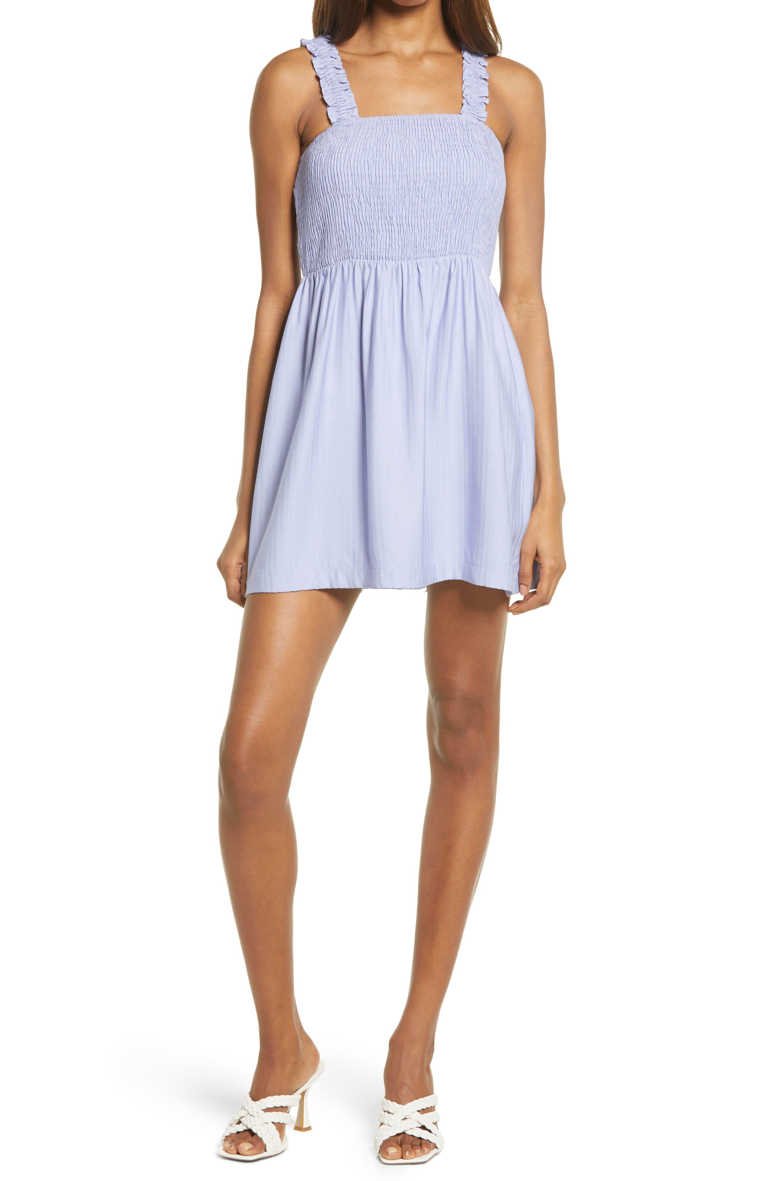 Nsr Mini dresses JULIA WOVEN DRESS