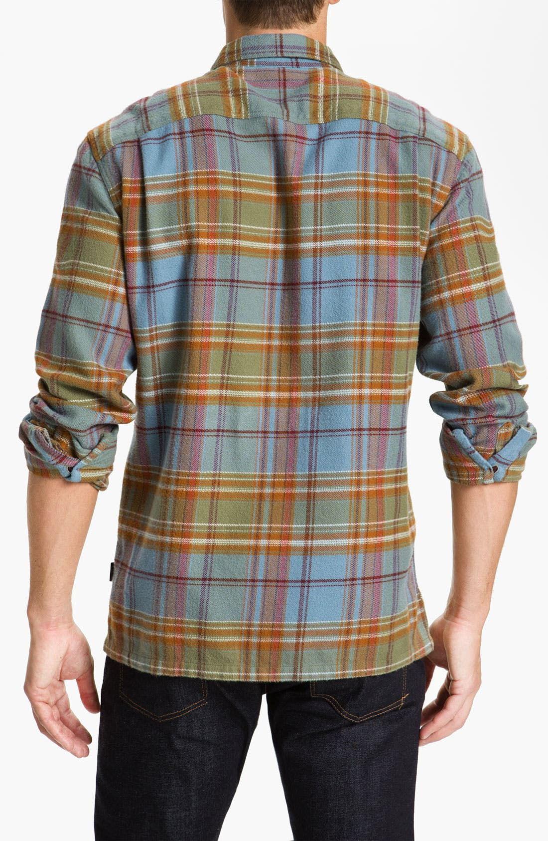 ,                             'Fjord' Regular Fit Organic Cotton Flannel Shirt,                             Alternate thumbnail 97, color,                             300